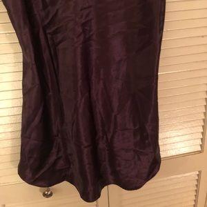5166f8eaf5 Basic Editions Intimates   Sleepwear -  Vintage  Eggplant simple scoop back  chemise slip
